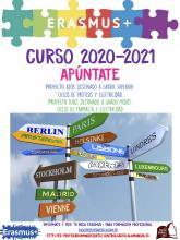 BECAS ERASMUS+ CURSO 2020-21 IES PROFESOR DOMINGUEZ ORTIZ